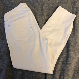 White 7 for all man kind jeans